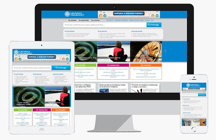 medijska-pismenost / web dizajn / izrada web sajtova
