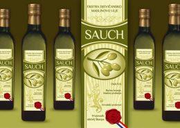 Sauch - dizajn etikete / dizajn ambalaže / dizajn pakovanja