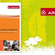 štampani materijal / dizajn štampe / Katalog za Ariston / print dizajn / grafički dizajn