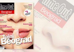 TimeOut magazin / prelom magazina / priprema za štampu