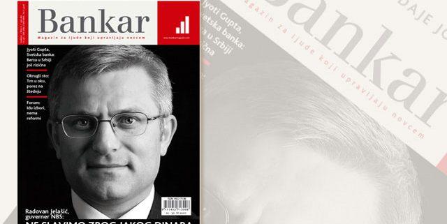 Magazin Bankar / prelom magazina / dizajn magazina