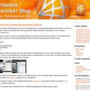 Adamantos Webworker Blog / web dizajn