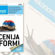 Ekonomist magazin / prelom magazina / priprema za štampu