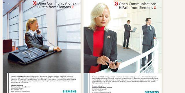 Siemens - oglasno rešenje / grafički dizajn