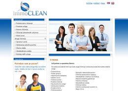 Immo Clean / web dizajn