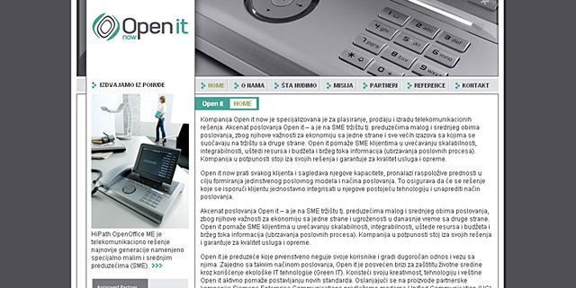 Open it / web dizajn