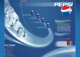 Pepsi / web dizajn