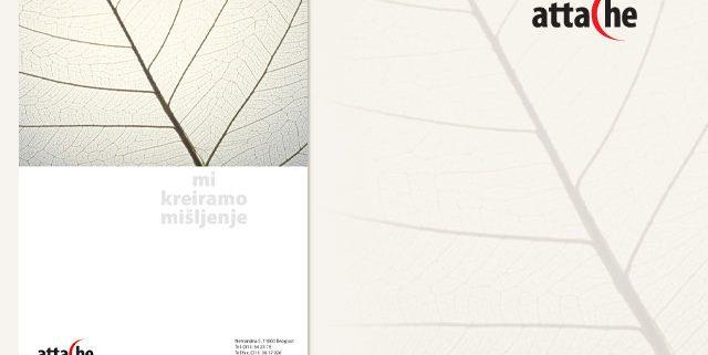 Attache / grafička priprema / vizuelni identitet / korporativni dizajn