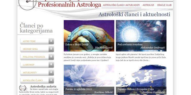 profesionalnaastrologija.com | web design / izrada web prezentacija